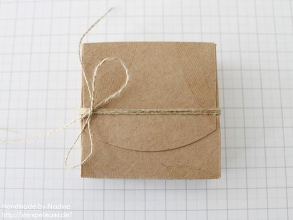 Anleitung Tutorial Box Umschlaege fuer Geschenkkarten Stampin Up Schachtel Verpackung Stempelset Heiteres Hurra 022
