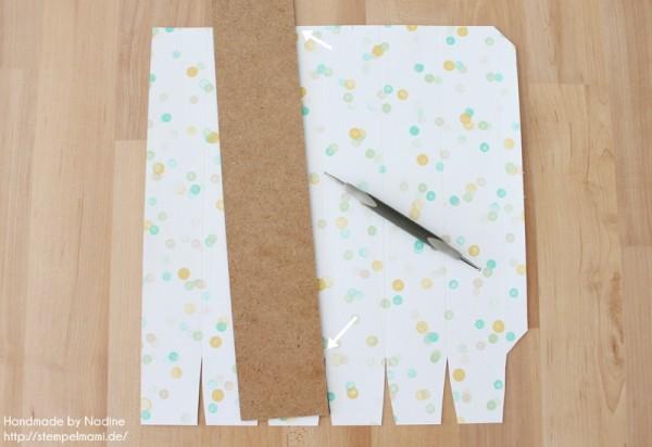 Anleitung Tutorial Sternenbox Box Schachtel Verpackung Star Box 022