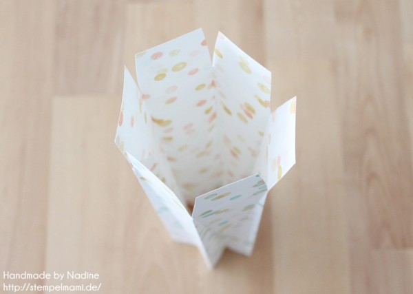 Anleitung Tutorial Sternenbox Box Schachtel Verpackung Star Box 040