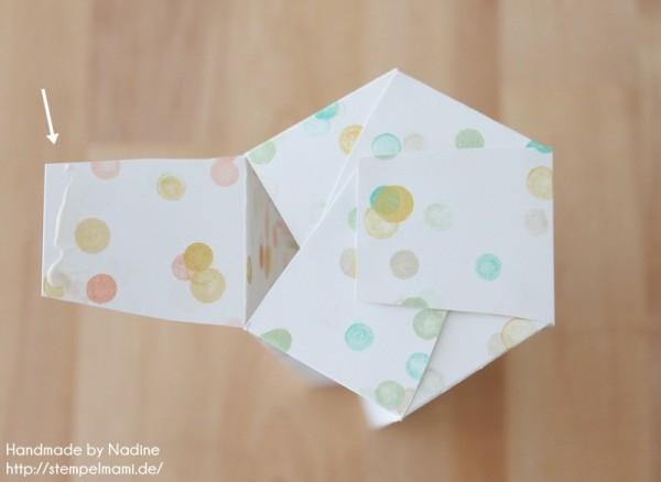 Anleitung Tutorial Sternenbox Box Schachtel Verpackung Star Box 043