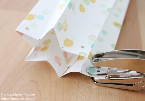Anleitung Tutorial Sternenbox Box Schachtel Verpackung Star Box 050