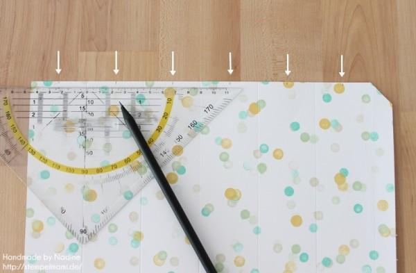 Anleitung Tutorial Sternenbox Box Schachtel Verpackung Star Box 061