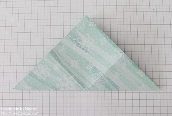Stampin Up Anleitung Tutorial Origami Box Schachtel Verpackung Star Box 007