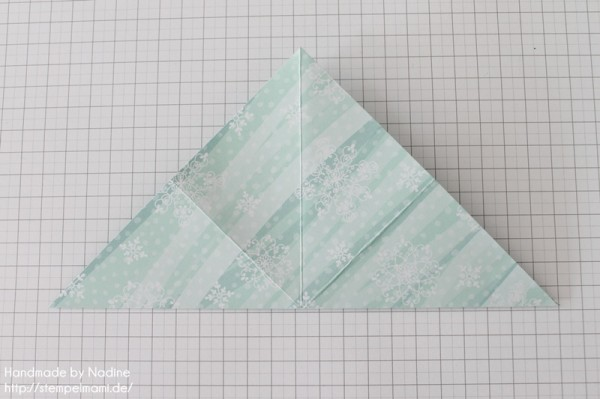 Stampin Up Anleitung Tutorial Origami Box Schachtel Verpackung Star Box 010