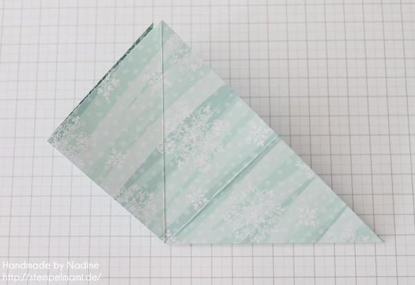 Stampin Up Anleitung Tutorial Origami Box Schachtel Verpackung Star Box 020