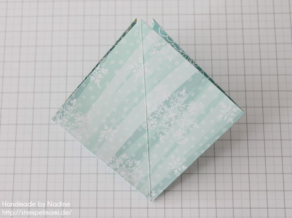 Stampin Up Anleitung Tutorial Origami Box Schachtel Verpackung Star Box 024