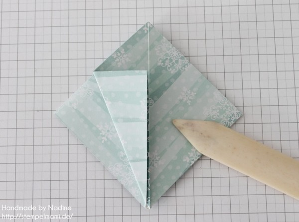 Stampin Up Anleitung Tutorial Origami Box Schachtel Verpackung Star Box 026