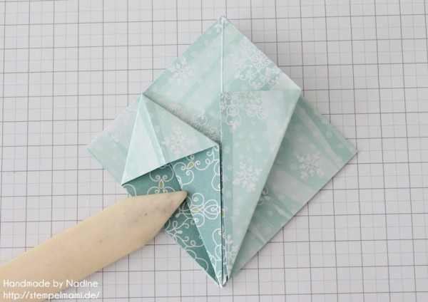 Stampin Up Anleitung Tutorial Origami Box Schachtel Verpackung Star Box 029