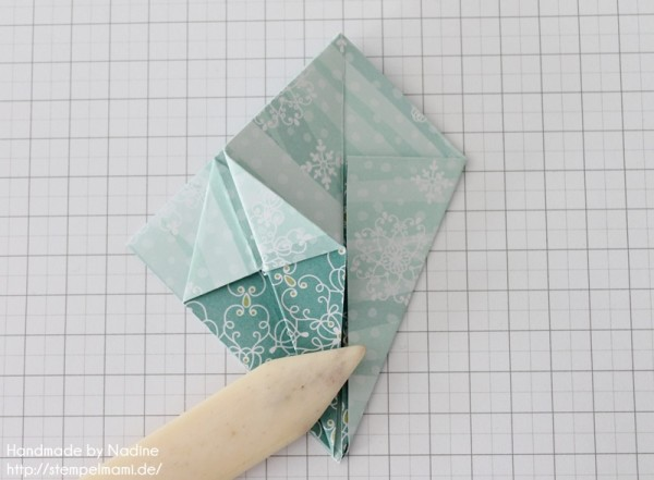 Stampin Up Anleitung Tutorial Origami Box Schachtel Verpackung Star Box 043