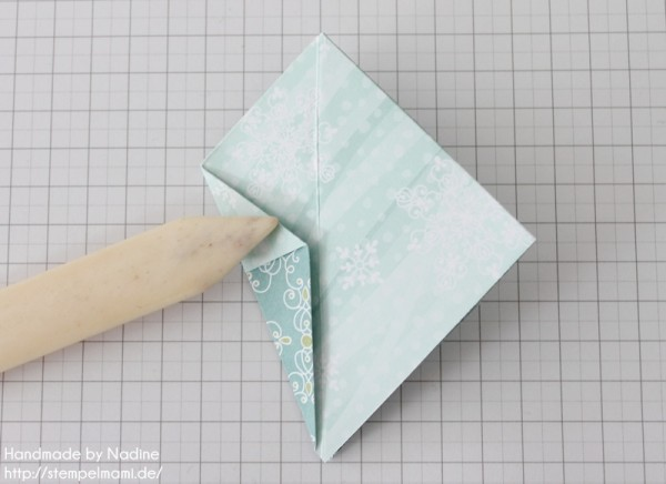 Stampin Up Anleitung Tutorial Origami Box Schachtel Verpackung Star Box 048