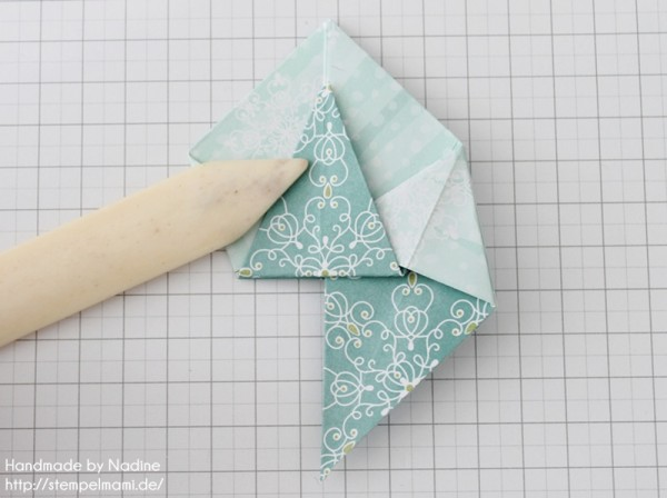 Stampin Up Anleitung Tutorial Origami Box Schachtel Verpackung Star Box 053