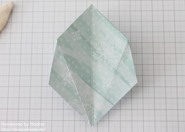 Stampin Up Anleitung Tutorial Origami Box Schachtel Verpackung Star Box 055