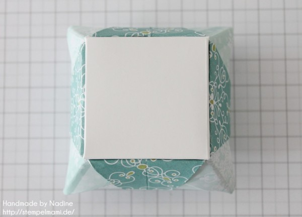 Stampin Up Anleitung Tutorial Origami Box Schachtel Verpackung Star Box 086