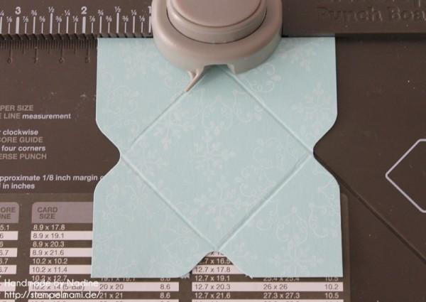 Stampin Up Anleitung Tutorial Origami Box Schachtel Verpackung Star Box 097