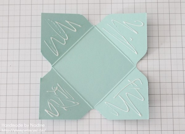 Stampin Up Anleitung Tutorial Origami Box Schachtel Verpackung Star Box 099