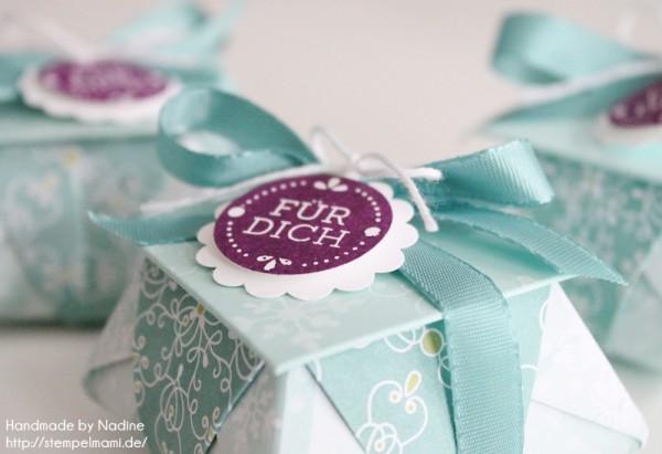 Stampin Up Goodie Gastgeschenke Box Tuete Verpackung Schachtel 035