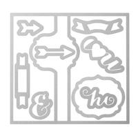 Stampin Up Thinlits Formen Pop Up Karte Etikett Angebote der Woche 133480