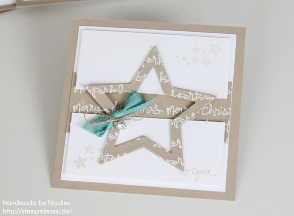Weihnachtskarte Stampin Up Swap Convention Christmas Card 015
