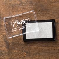 Stampin Up Angebote der Woche Encore Metallic-Stempelkissen Silber 132142