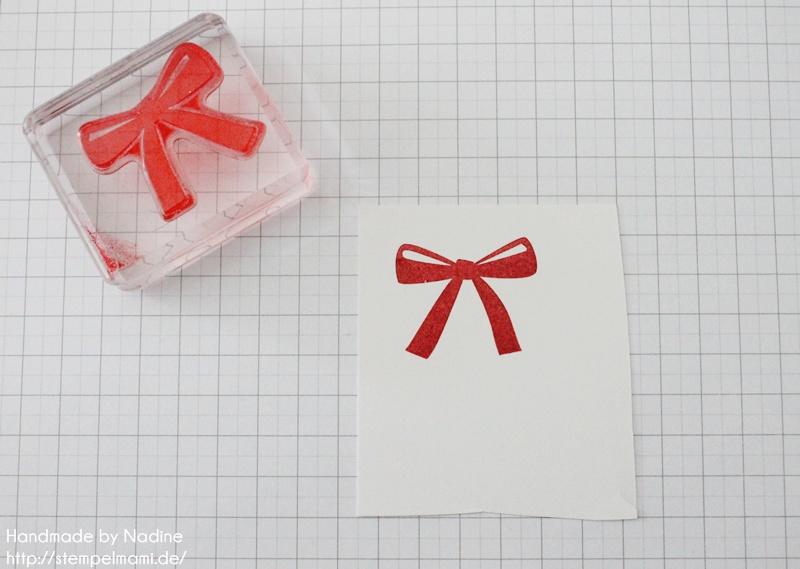 Anleitung Tutorial Stampin Up Sternenbox Star Box Weihnachten 009