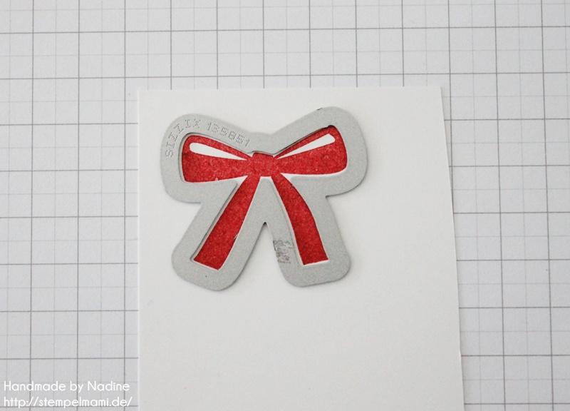 Anleitung Tutorial Stampin Up Sternenbox Star Box Weihnachten 011