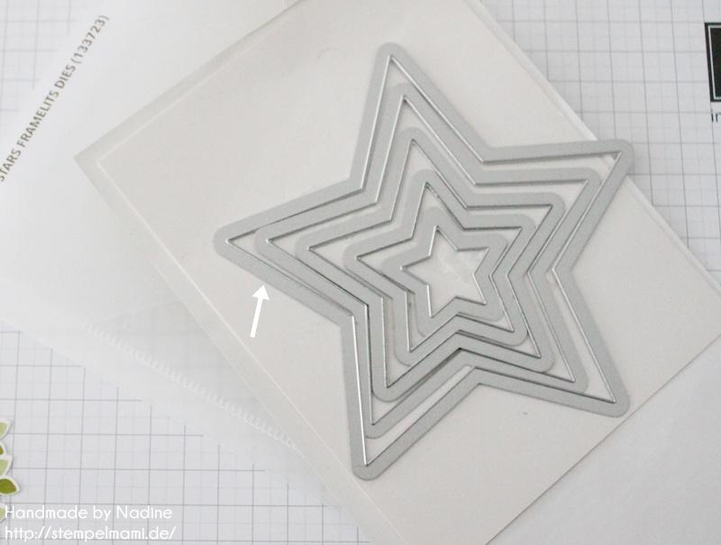 Anleitung Tutorial Stampin Up Sternenbox Star Box Weihnachten 012