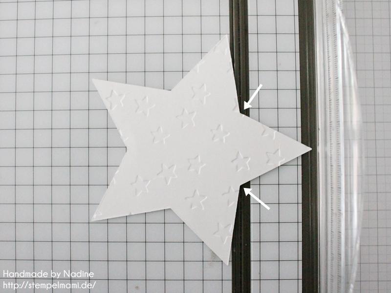 Anleitung Tutorial Stampin Up Sternenbox Star Box Weihnachten 014