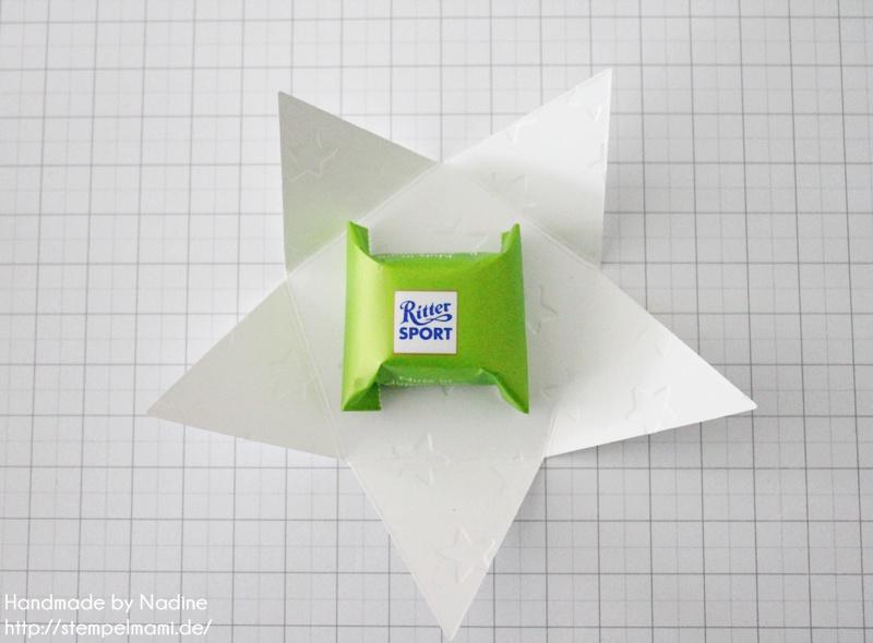 Anleitung Tutorial Stampin Up Sternenbox Star Box Weihnachten 021