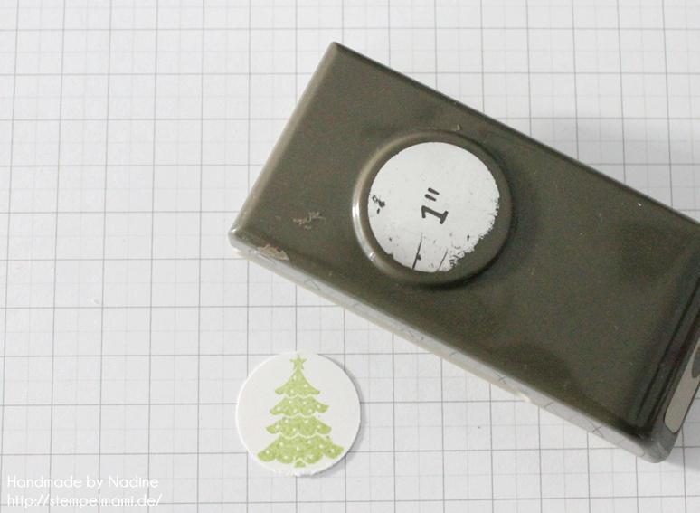 Anleitung Tutorial Stampin Up Sternenbox Star Box Weihnachten 034