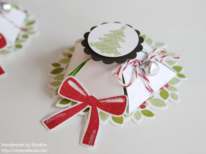 Anleitung Tutorial Stampin Up Sternenbox Star Box Weihnachten 059