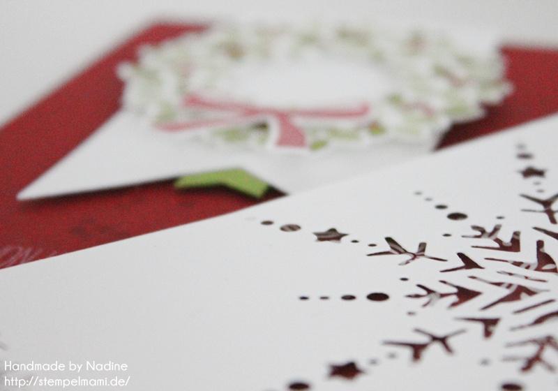 Stampin Up Weihnachtskarte Christmas Card Karte Card 338