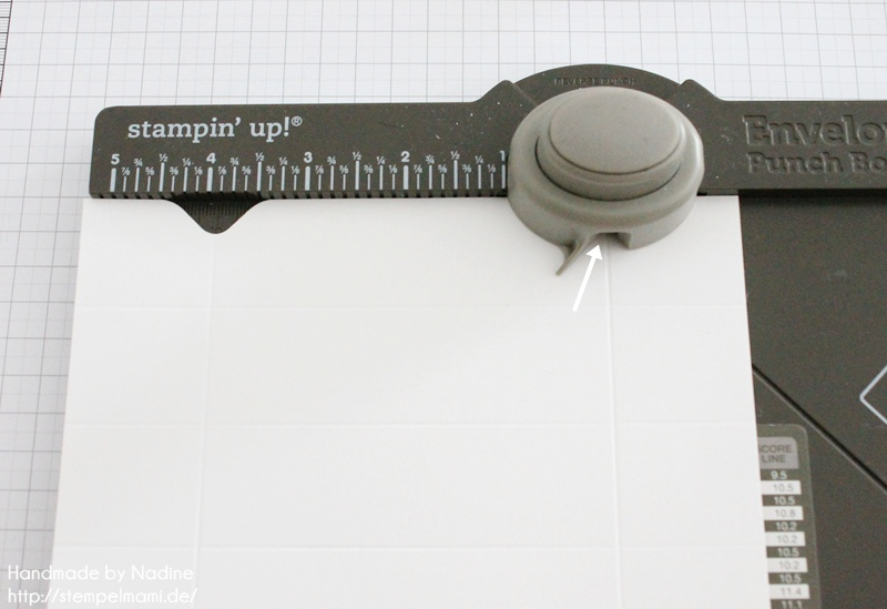 Anleitung Stampin Up Tutorial Knallbonbon Envelope Punch Board 014