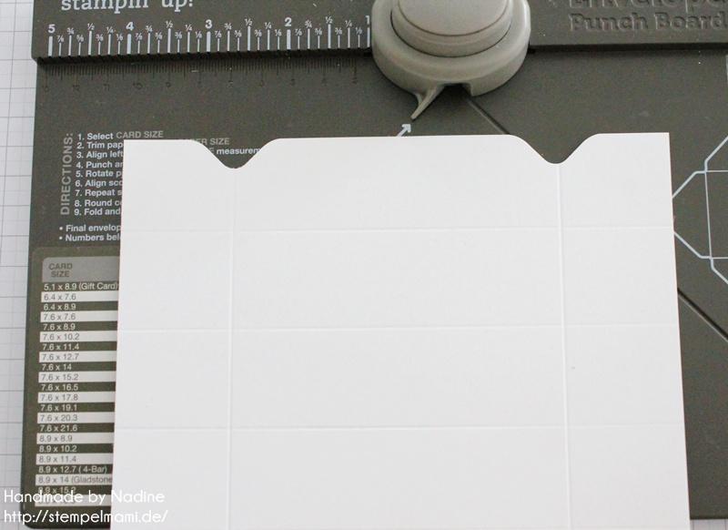 Anleitung Stampin Up Tutorial Knallbonbon Envelope Punch Board 016
