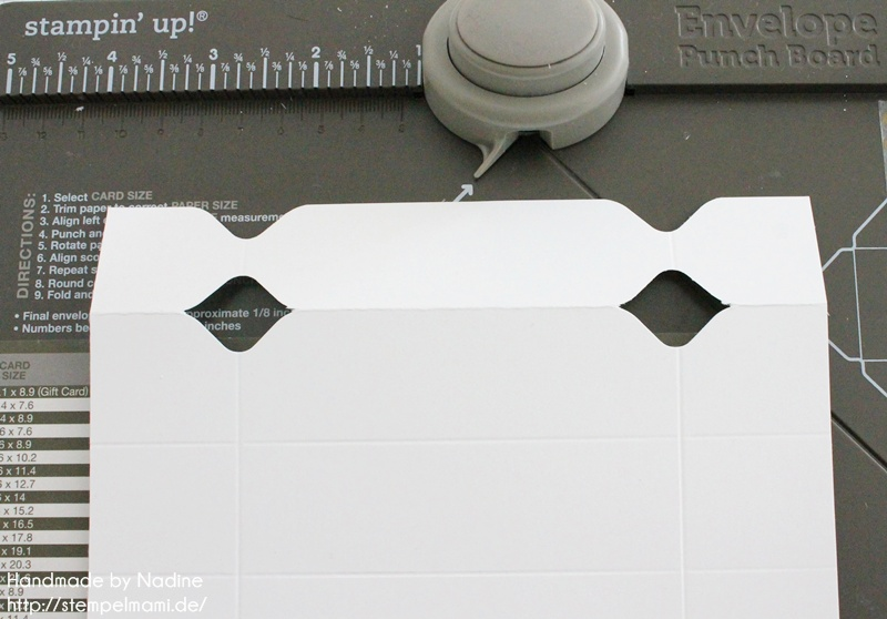 Anleitung Stampin Up Tutorial Knallbonbon Envelope Punch Board 024
