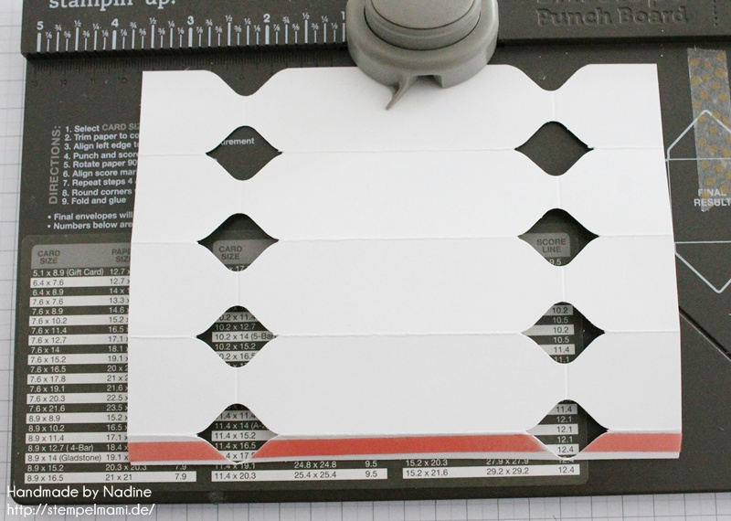 Anleitung Stampin Up Tutorial Knallbonbon Envelope Punch Board 042