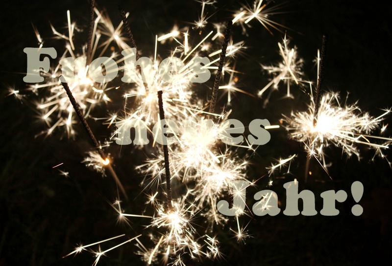 Ein frohes neues Jahr und eure Weihnachtspost!