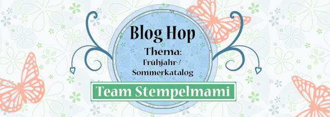 Stampin Up Blog Hop Team Stempelmami