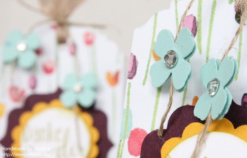 Kleine Goodie Tüten mit dem Designerpapier Zarter Frühling