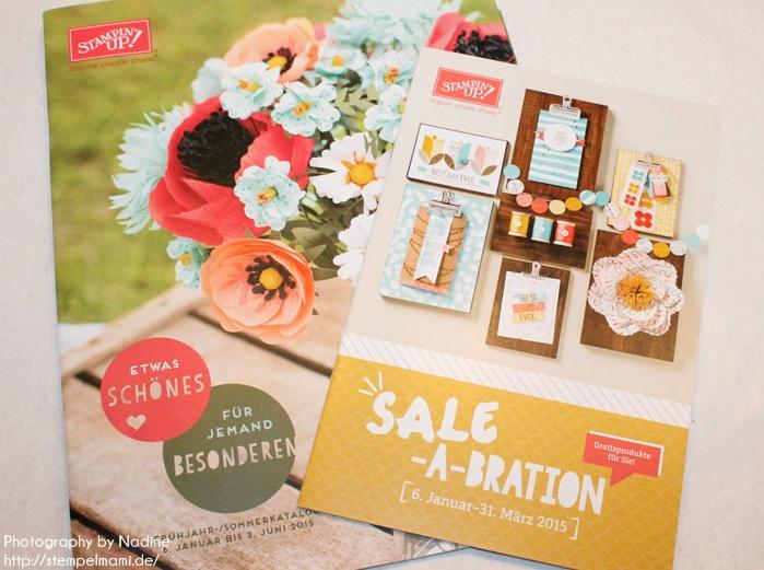 Stampin Up! Frühjahr / Sommerkatalog und Sale A Bration Flyer 2015 bestellen