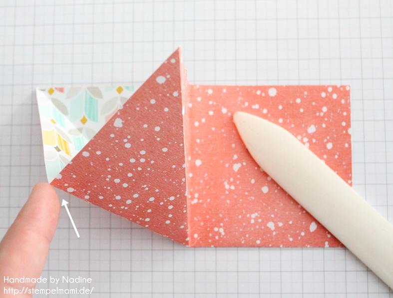 Anleitung Stampin Up Tutorial Gastgeschenk Tuete Goodie Origami 011