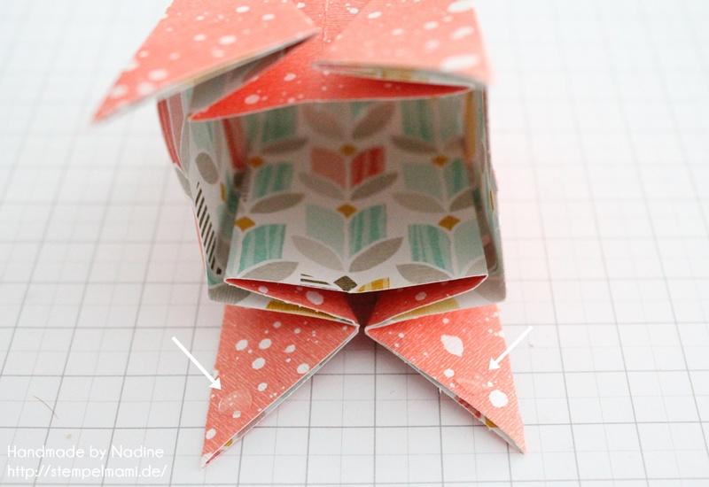 Anleitung Stampin Up Tutorial Gastgeschenk Tuete Goodie Origami 032