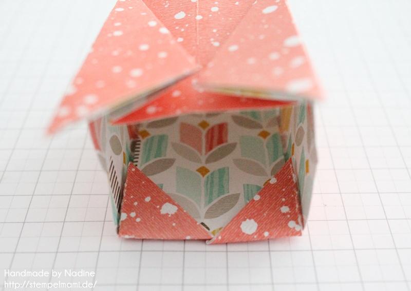 Anleitung Stampin Up Tutorial Gastgeschenk Tuete Goodie Origami 034