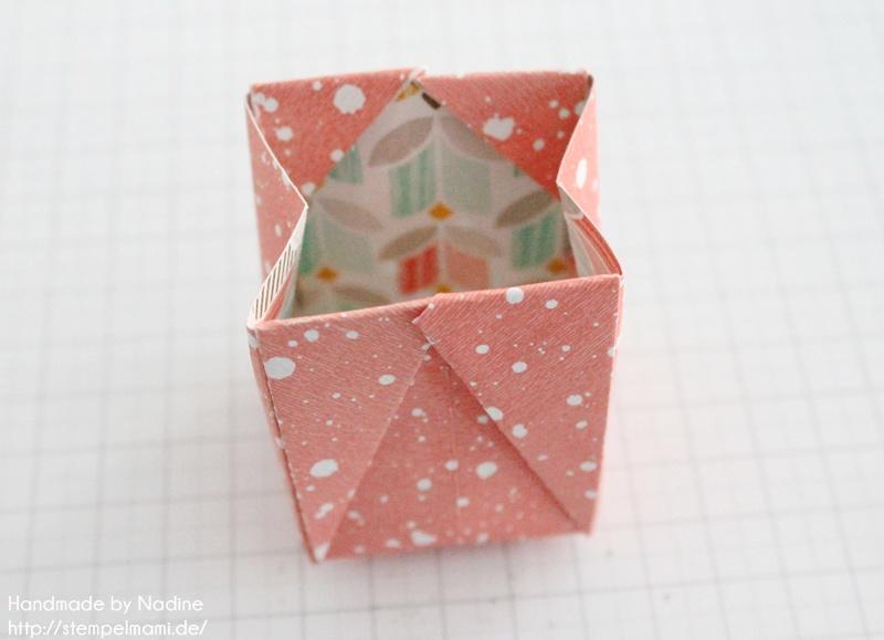 Anleitung Stampin Up Tutorial Gastgeschenk Tuete Goodie Origami 038