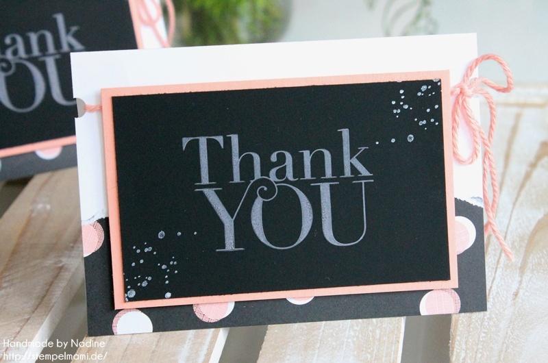 Jede menge dankeskarten und das ende der sale a bration for Tafel papier