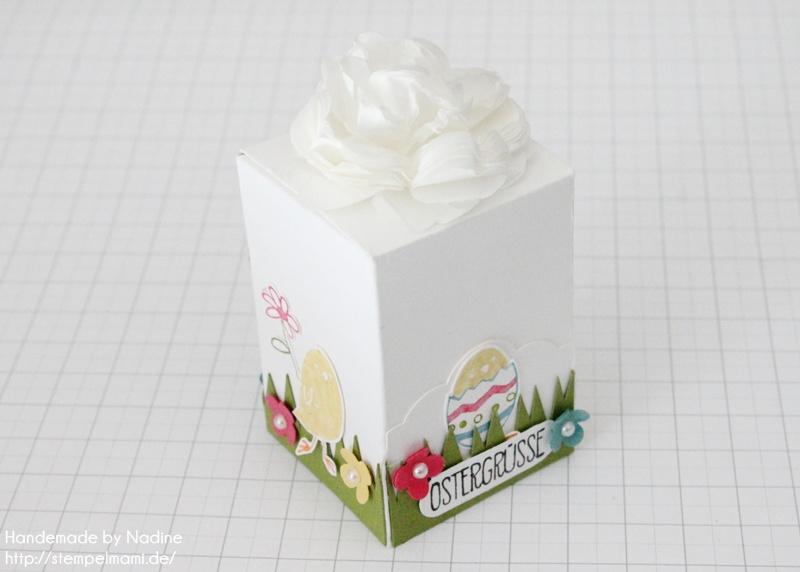 Stampin Up! Anleitung Tutorial Schokoeierspender oder Box zu Ostern