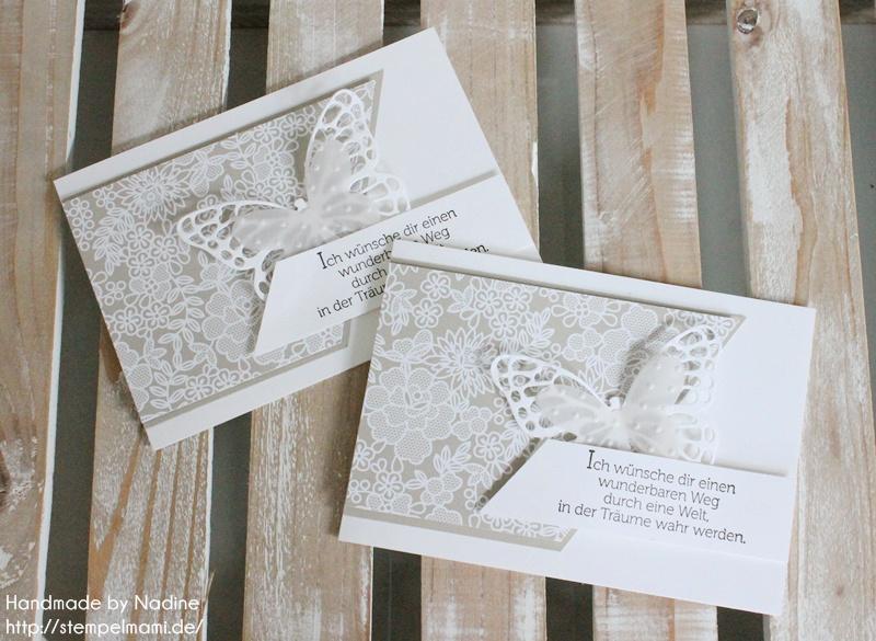 Karten zur Konfirmation - Basteln mit Stempelmami