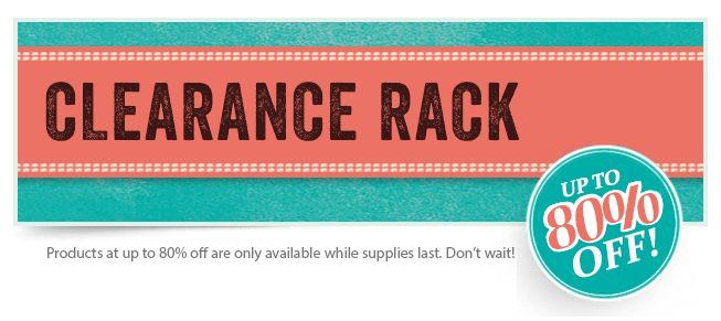 Schnäppchen im Stampin Up! Online Shop in der Ausverkaufsecke (Clearance Rack Liste)