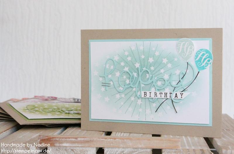 Stampin Up Geburtstagskarte Birthday Card Karte Stempelset Age Awareness Drehstempel Alphabet Thinlits Formen Gruesse Stempelmami Nadine Koeller 021