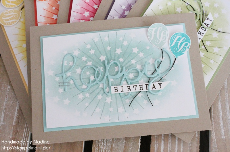 Stampin Up Geburtstagskarte Birthday Card Karte Stempelset Age Awareness Drehstempel Alphabet Thinlits Formen Gruesse Stempelmami Nadine Koeller 034