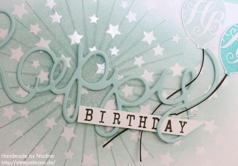 Stampin Up Geburtstagskarte Birthday Card Karte Stempelset Age Awareness Drehstempel Alphabet Thinlits Formen Gruesse Stempelmami Nadine Koeller 046